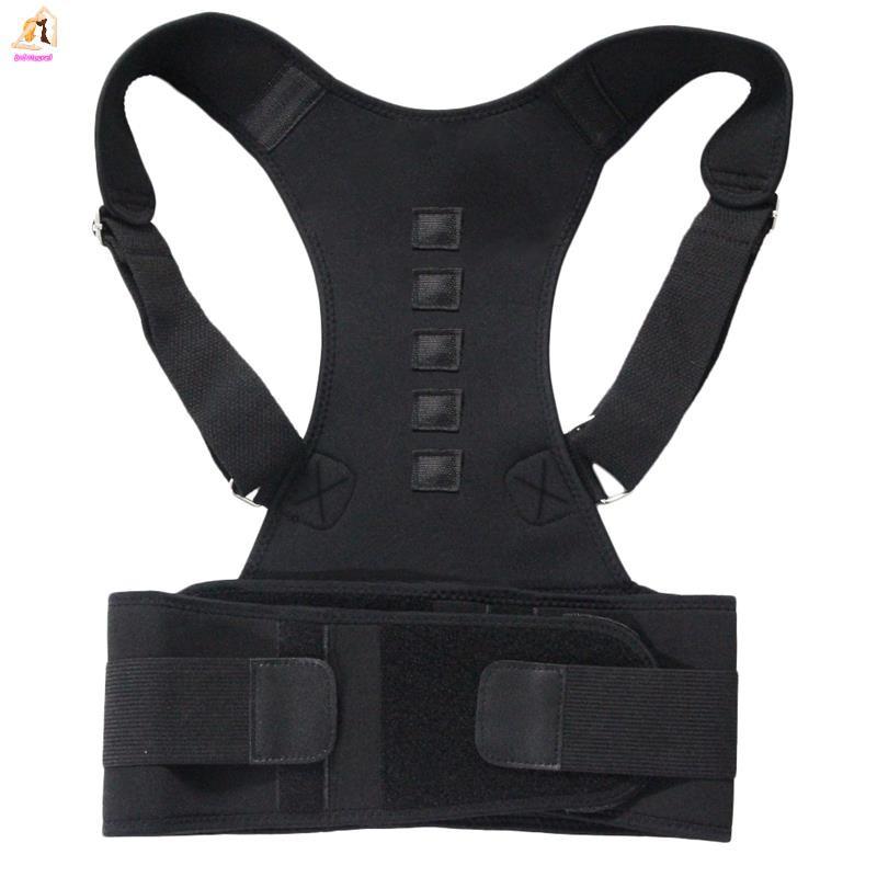 Posture Corrector Support Magnetic Back Shoulder Brace Belt For Men Women H/_ti