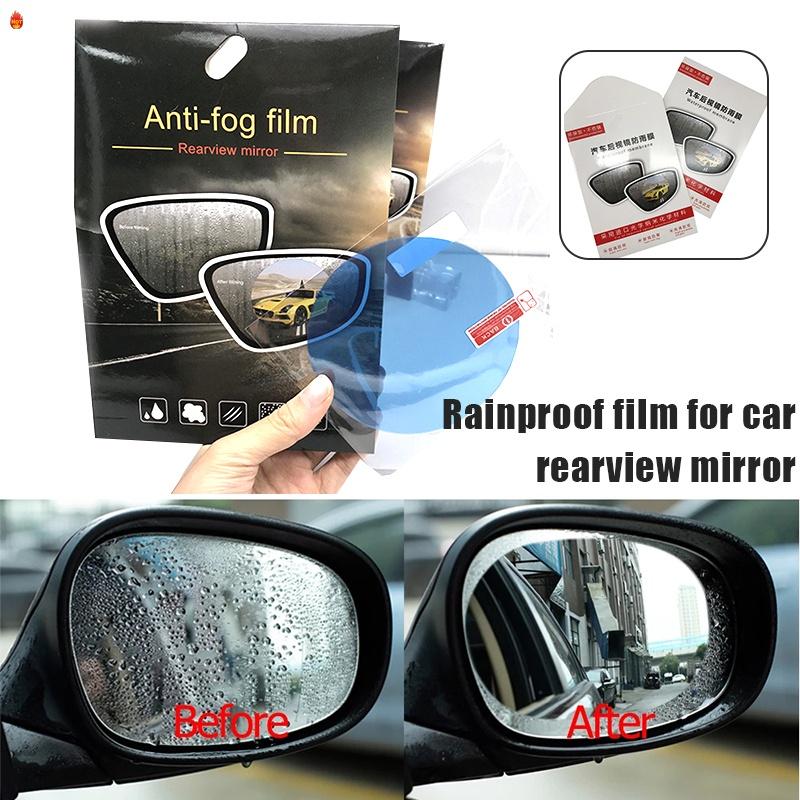 2pcs Car Rearview Mirror Anti Fog, Are Mirrors Waterproof